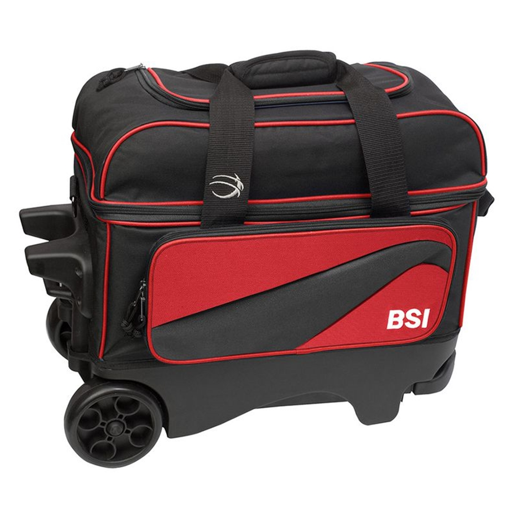 Bsi Large Wheel Double Roller Bowling Bag Free Shipping