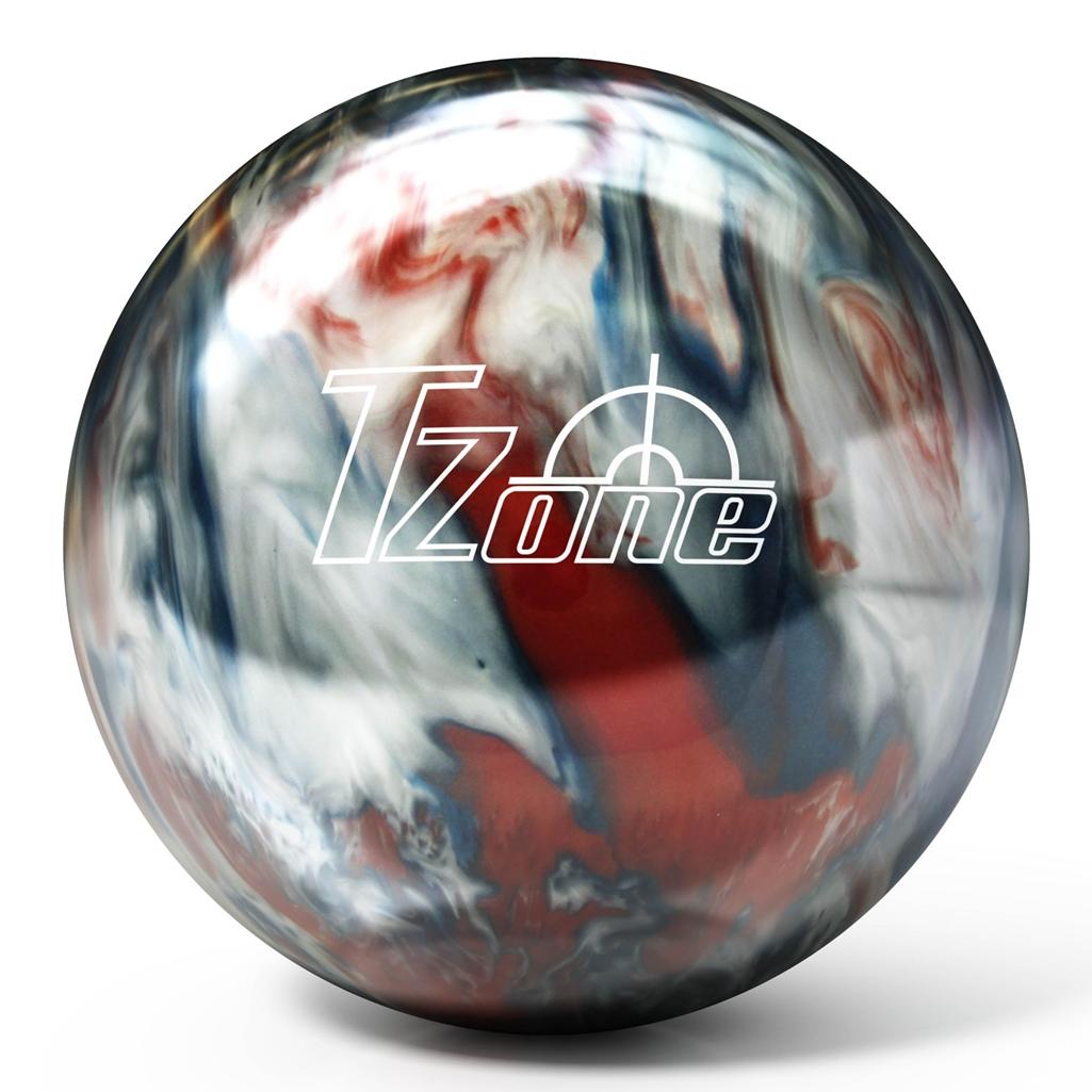 Brunswick T Zone Pre Drilled Bowling Ball Patriot Blaze