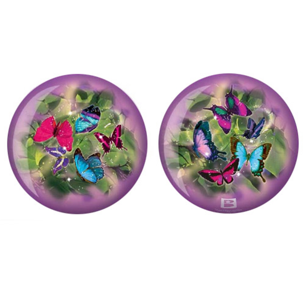 Brunswick Butterflies Glow PRE-DRILLED Viz-A-Ball Bowling Ball
