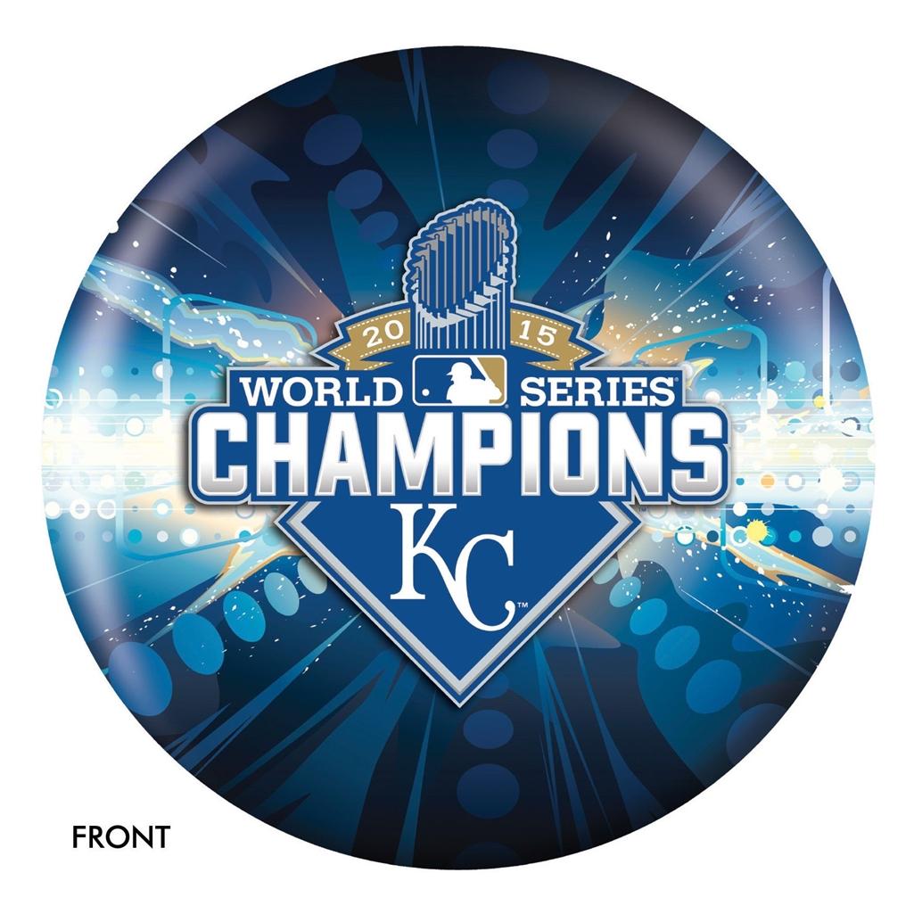 Kansas City Royals 2015 World Series Champs Bowling Ball