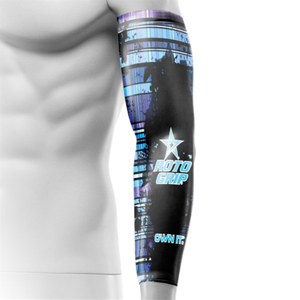 Roto Grip Compression Sleeve- Blue Grunge