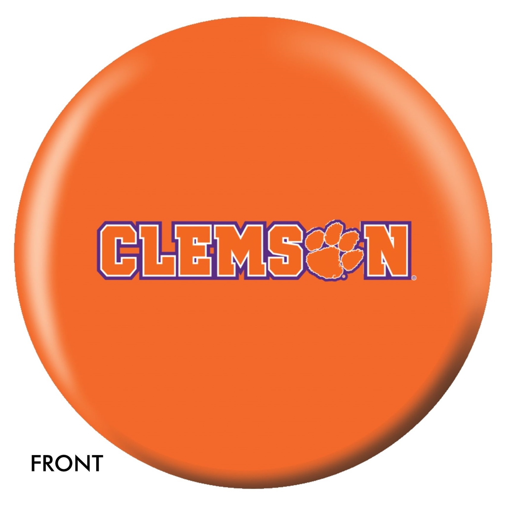 Clemson University Tigers Bowling Ball