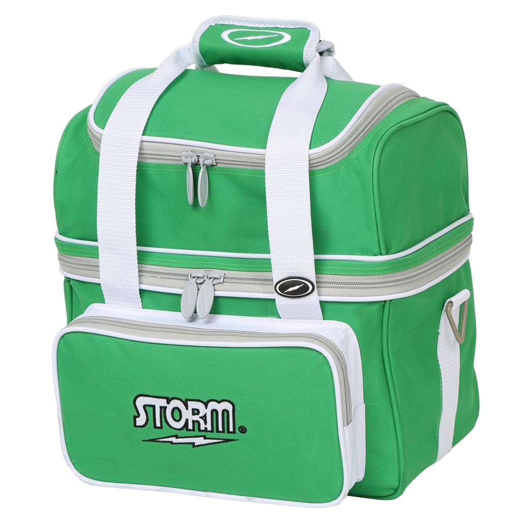 Flip Tote Bowling Bag by Storm- Green/White