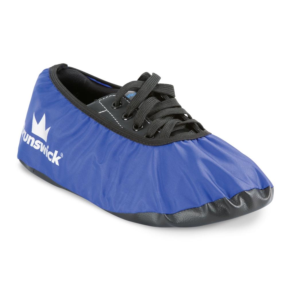 Brunswick Defense Bowling Shoe Covers Blue