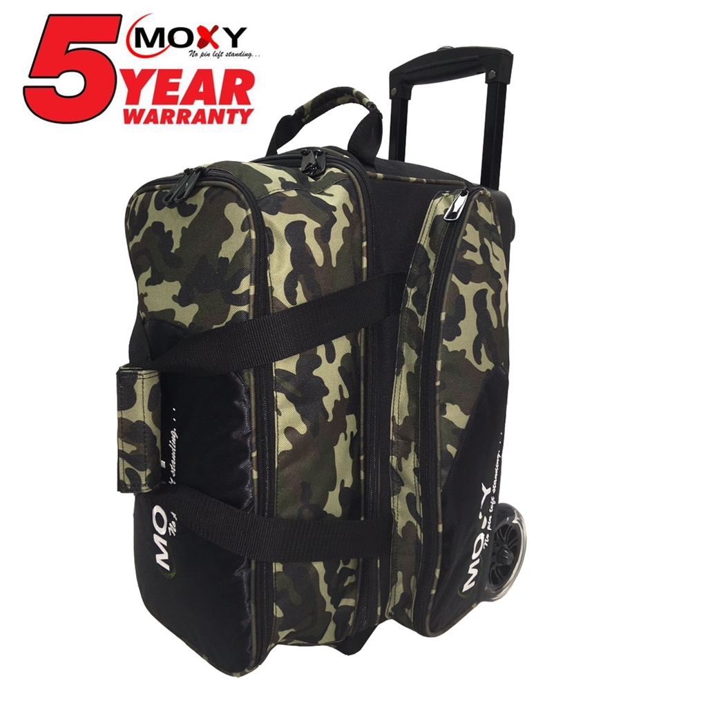 Moxy Blade Premium Double Roller Bowling Bag- Camouflage