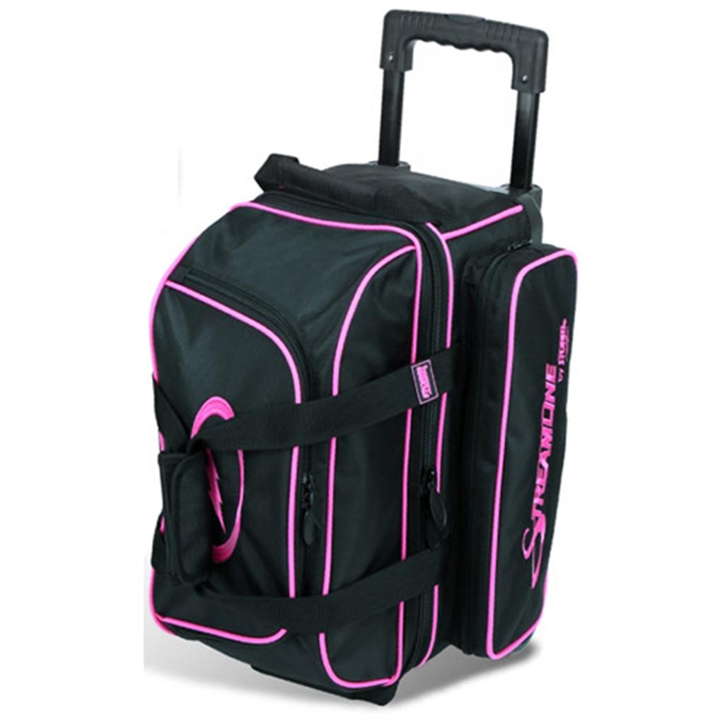 Storm Streamline 2 Ball Roller Bowling Bag Black Pink