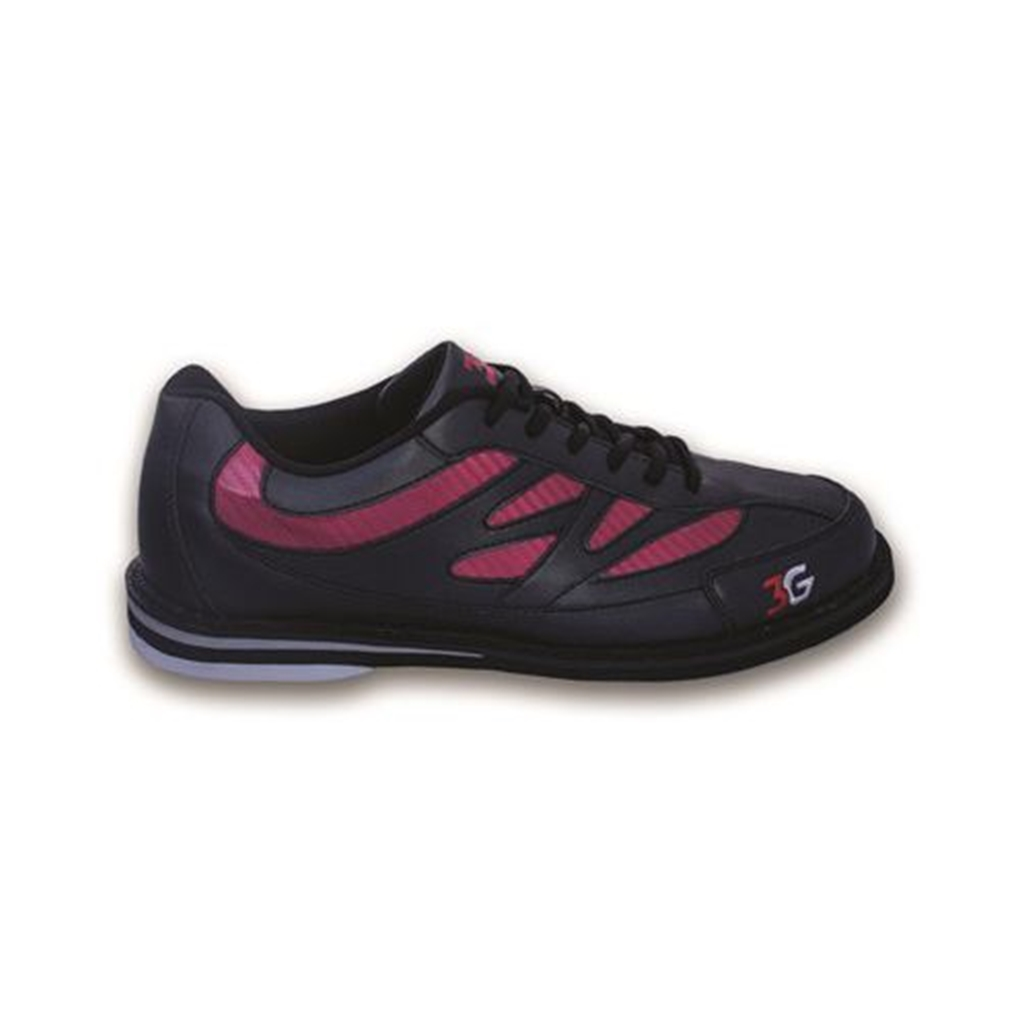 3G Mens Cruze Bowling Shoes- Black/Red