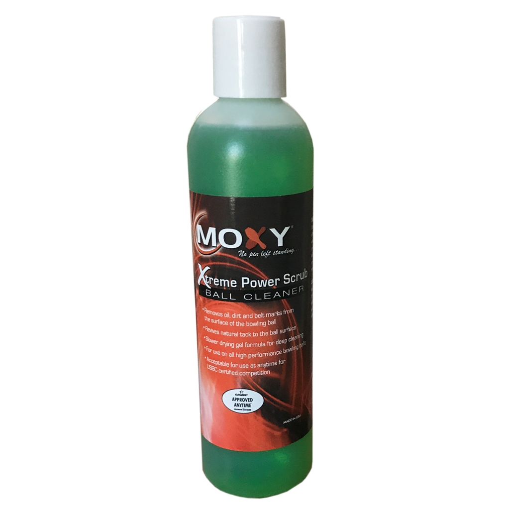 Moxy Xtreme Power Scrub Ball Cleaner- 8 ounce bottle