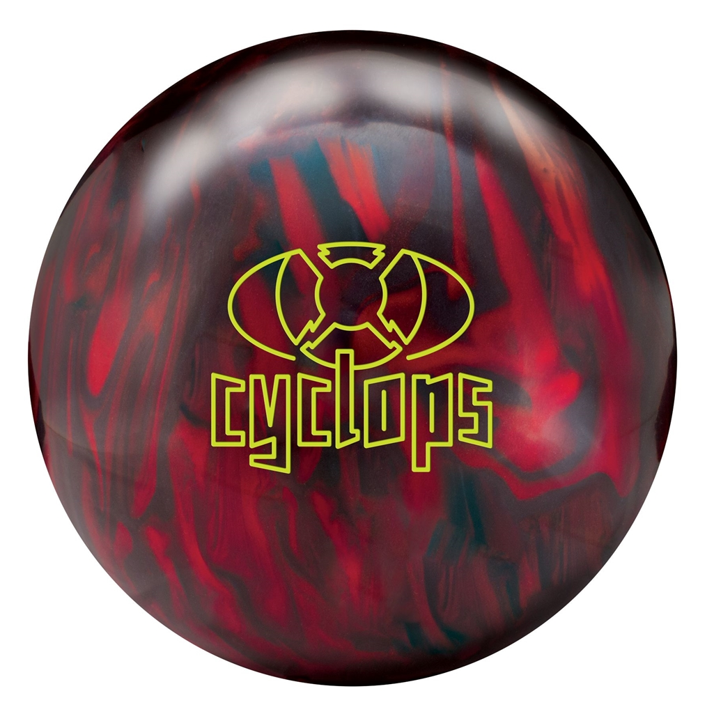 Radical Cyclops Pearl Bowling Ball- Black/Red Pearl
