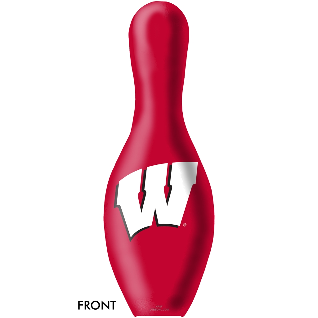 Wisconsin Badgers Bowling Pin