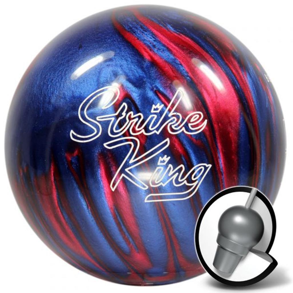 Brunswick Strike King Bowling Ball- Blue/Red