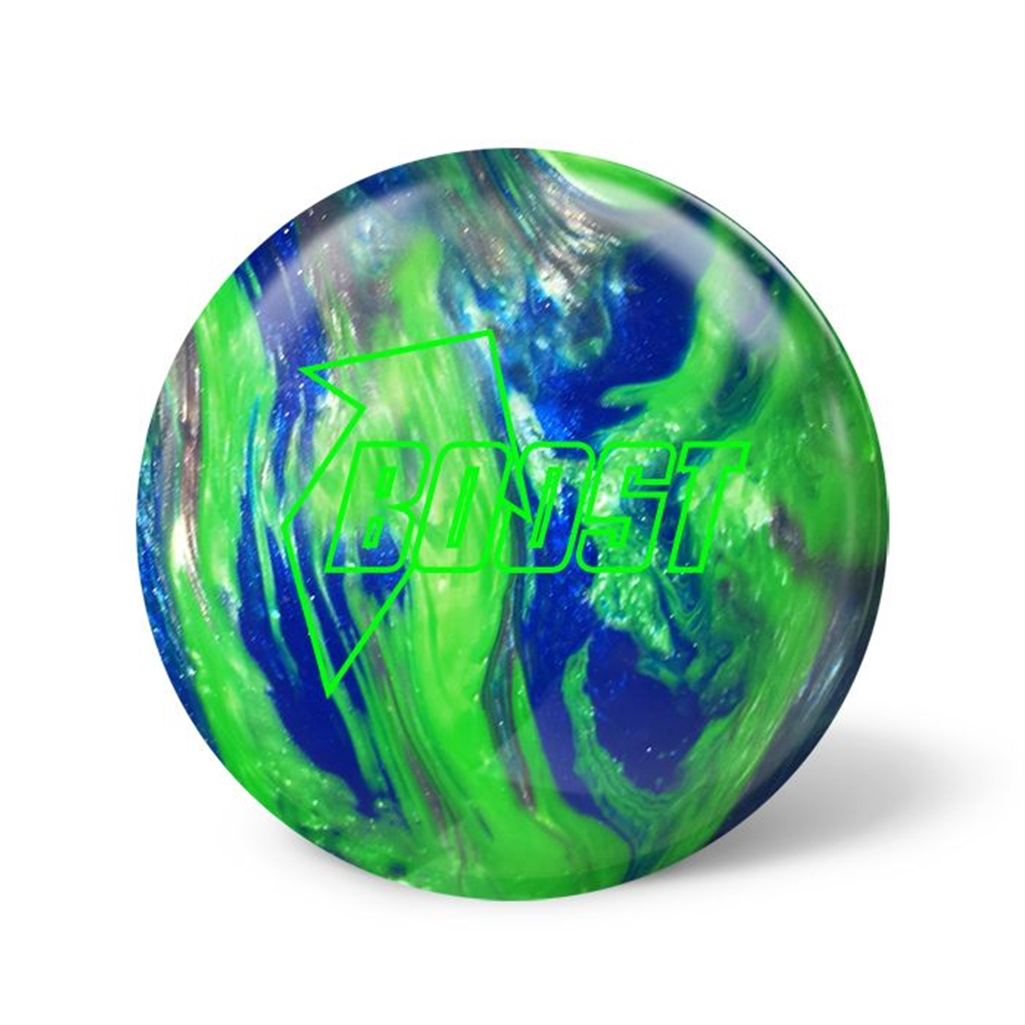 900 Global Boost Bowling Ball- Green/Silver/Blue Pearl