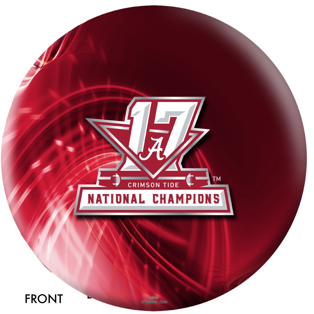 Alabama Crimson Tide 2017 National Champions Bowling Ball