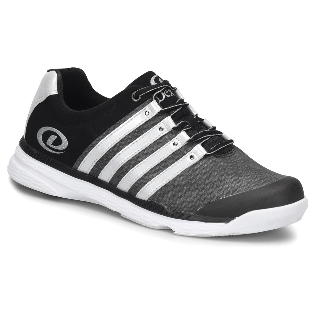 1bd76b75a4915 Dexter Mens Kevin Bowling Shoes- Grey Silver Black