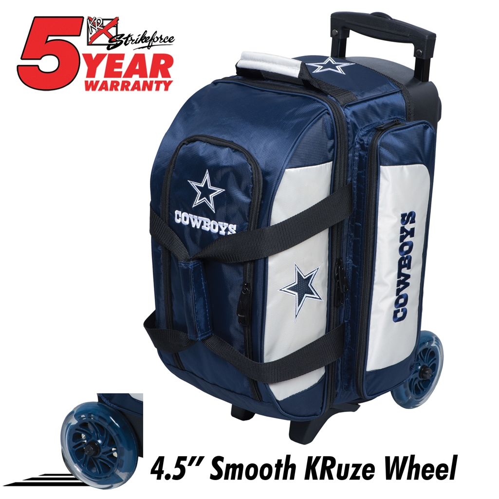 Dallas Cowboys 2 Ball Roller Bowling Bag 608ca4111
