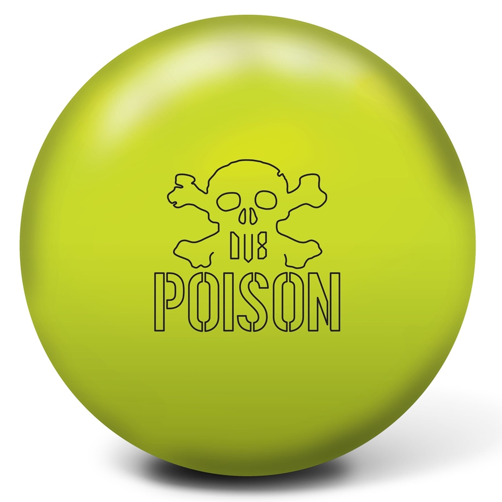 Dv8 Poison Bowling Ball Halogen Yellow