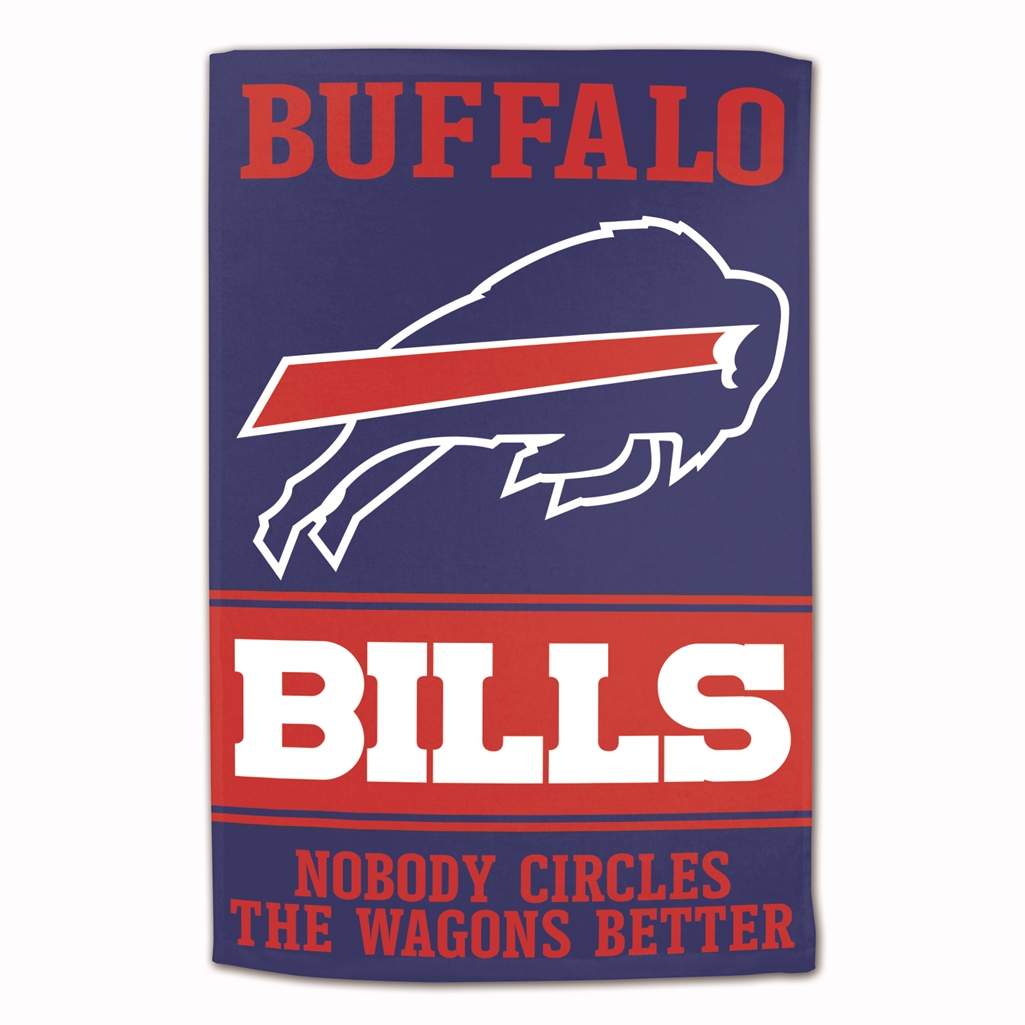 super popular 7bb75 b8600 Buffalo Bills Sublimated Cotton Towel - 16