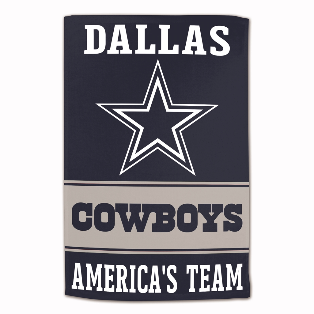 Dallas Cowboys Sublimated Cotton Towel - 16