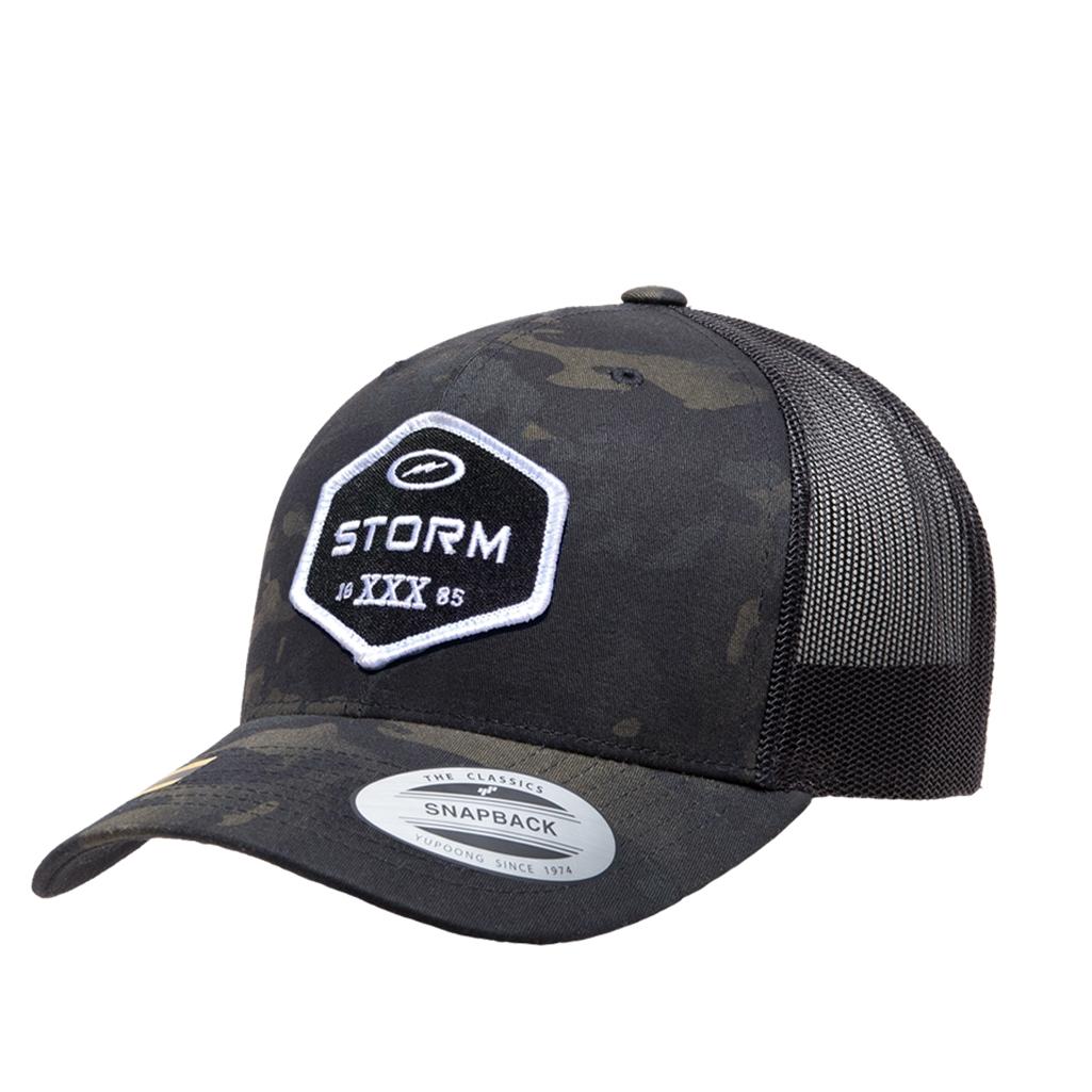 756a483c8a3 Storm Trucker Patch Hat - Camo