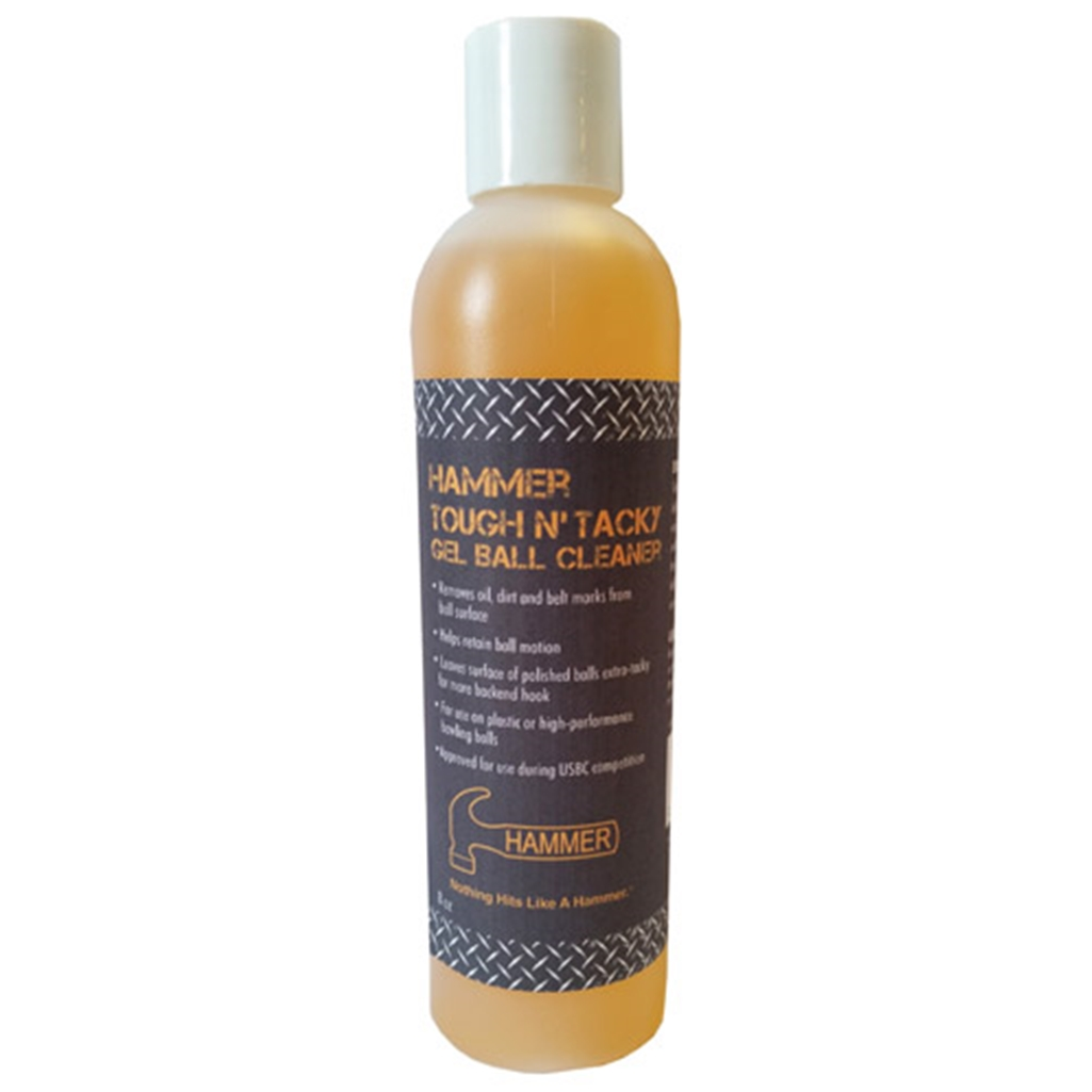 Hammer Tough and Tacky Ball Cleaner- 8 oz bottle