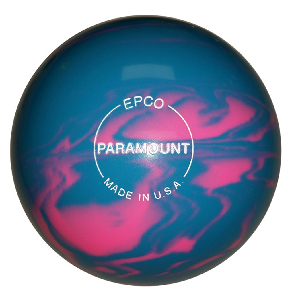 Candlepin Paramount Marbleized Bowling Ball 4 5