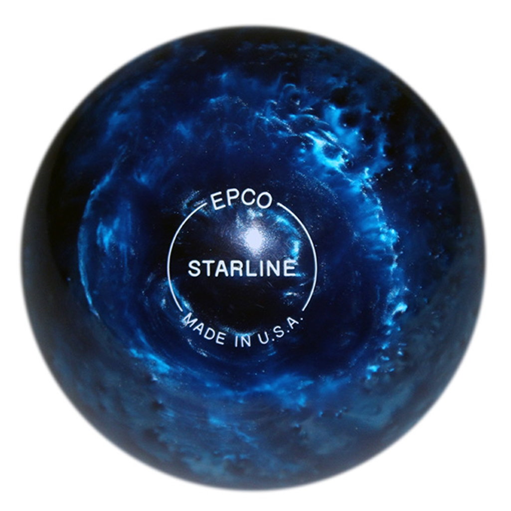 "Candlepin Starline Bowling Ball 4.5""- Blue Pearl"