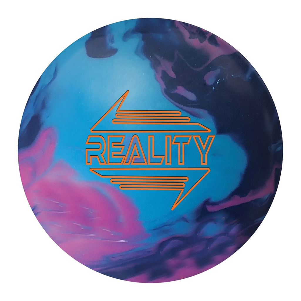 900 Global Reality Bowling Ball - Magenta/Aqua/Midnight Blue