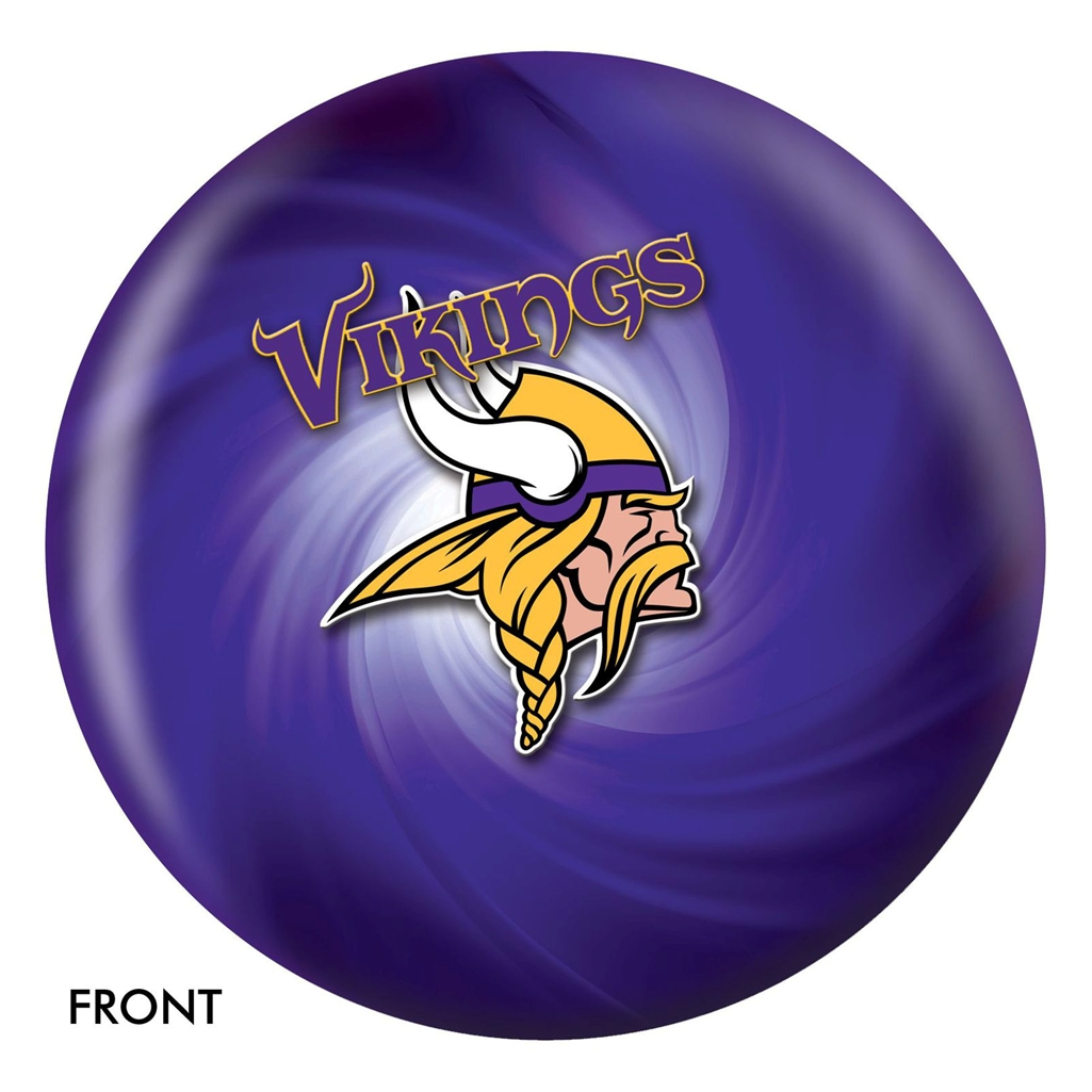 Minnesota Vikings Bowling Ball