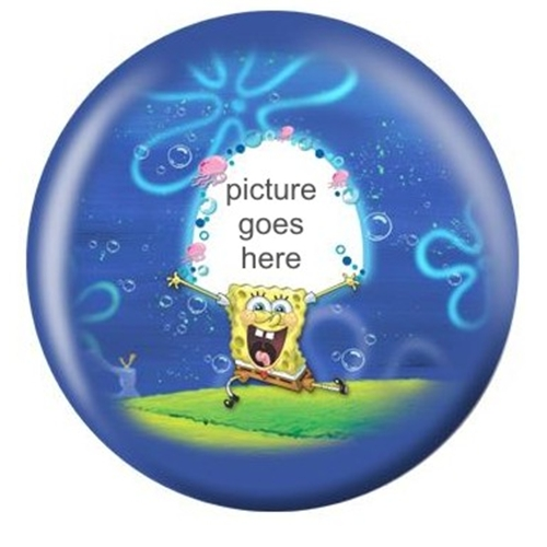 Spongebob Customized Bowling Ball