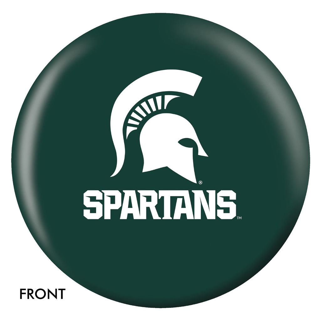 Michigan State University Bowling Ball