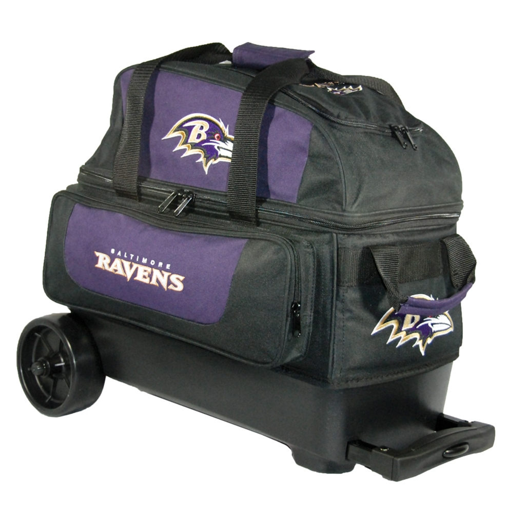 NFL Double Roller Bowling Bag- Baltimore Ravens   Free Shipping ...