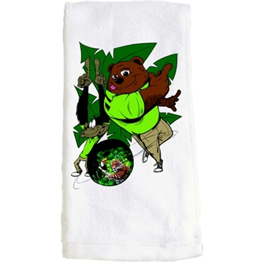 Jungle Themed Bowling Towel