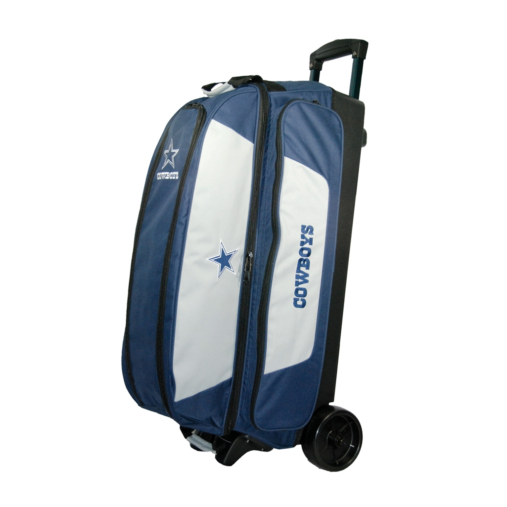 Nfl Triple Roller Bowling Bag Dallas Cowboys