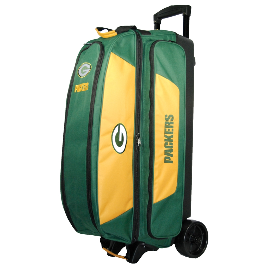 25edf6ef2ce NFL Triple Roller Bowling Bag- Green Bay Packers