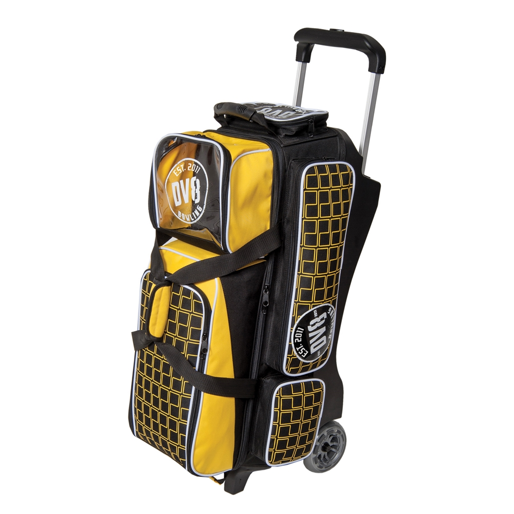Dv8 Deluxe Triple Roller Bowling Bag Free Shipping 1