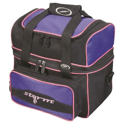 Storm Flip Tote Bowling Bag- Black/Purple
