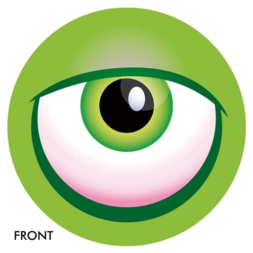 Monster Eye Ball- Green Bowling Ball | 2-3 Weeks for Production | Free ...