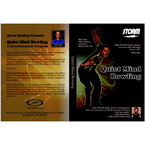 Quiet Mind Bowling DVD by Storm