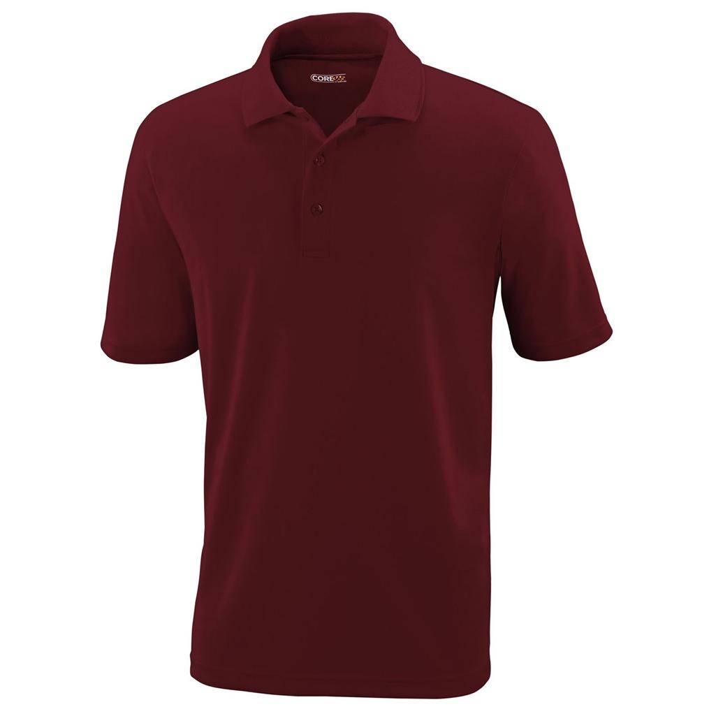 Ash City Mens Origin Polo Performance Shirt