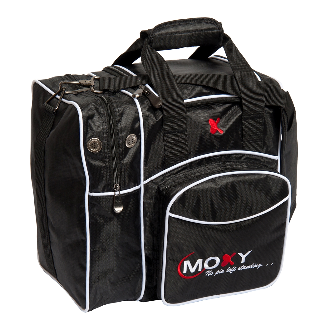 Moxy Deluxe Single Bowling Bag- Black