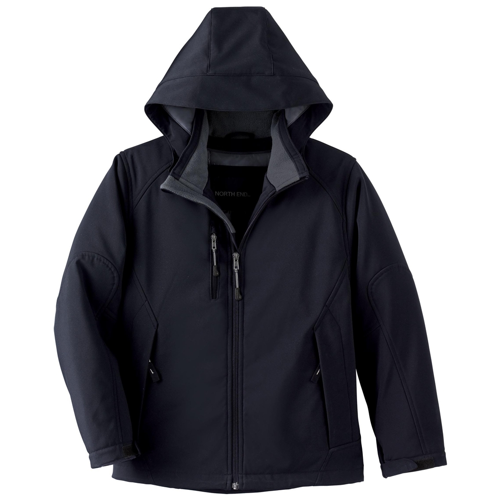 Ash City Glacier Youth Insulated Soft Shell Jacket