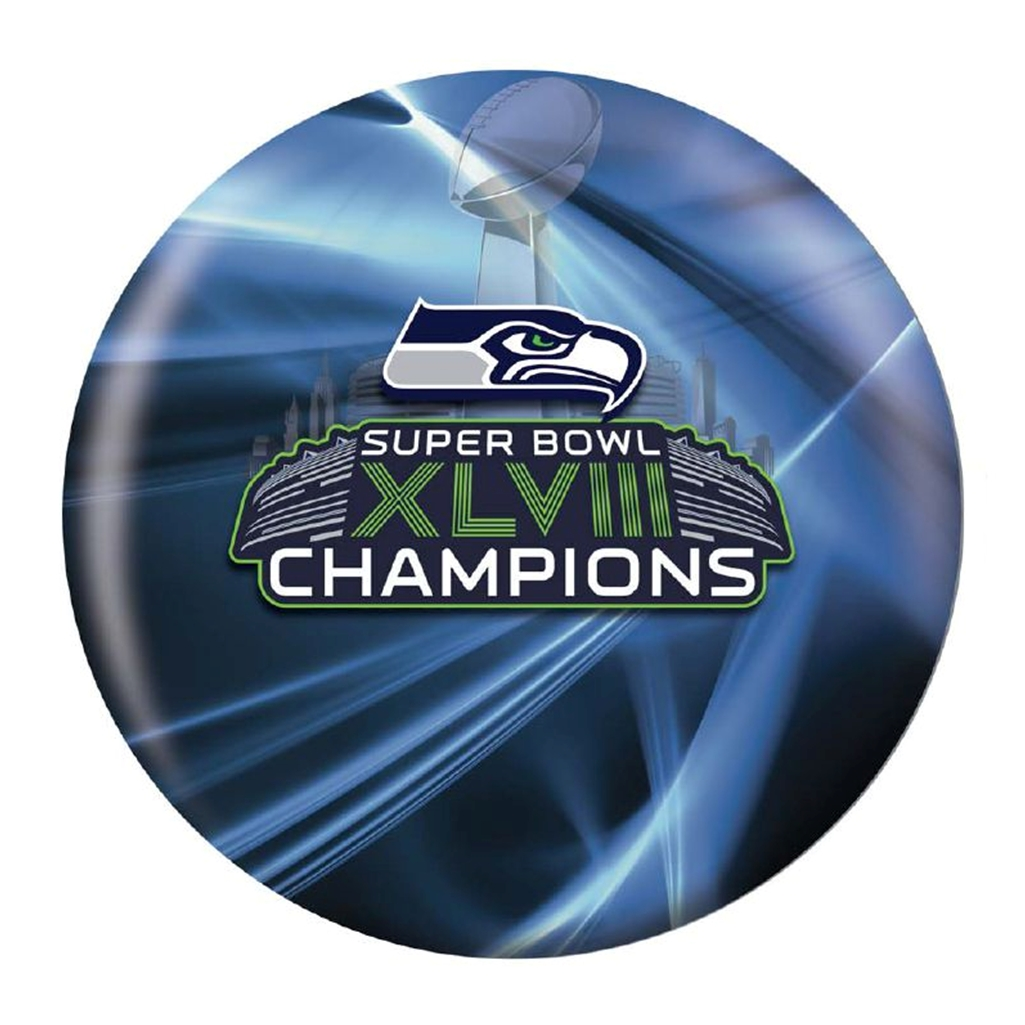 Seattle Seahawks XLVIII Super Bowl Champions Bowling Ball
