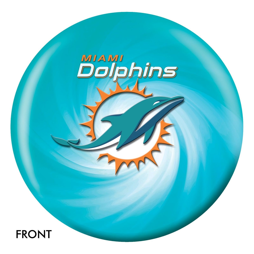 Miami Dolphins NFL Bowling Ball