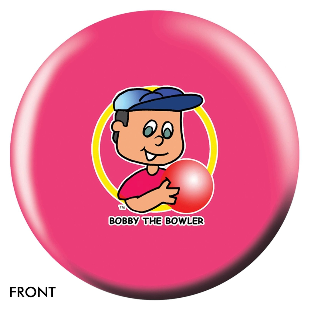 Bobby the Bowler Bowling Ball- Pink