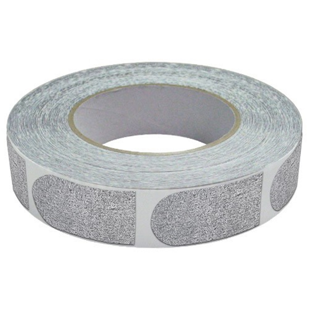 Real Bowlers Tape Silver Roll of 500- 1 Inch